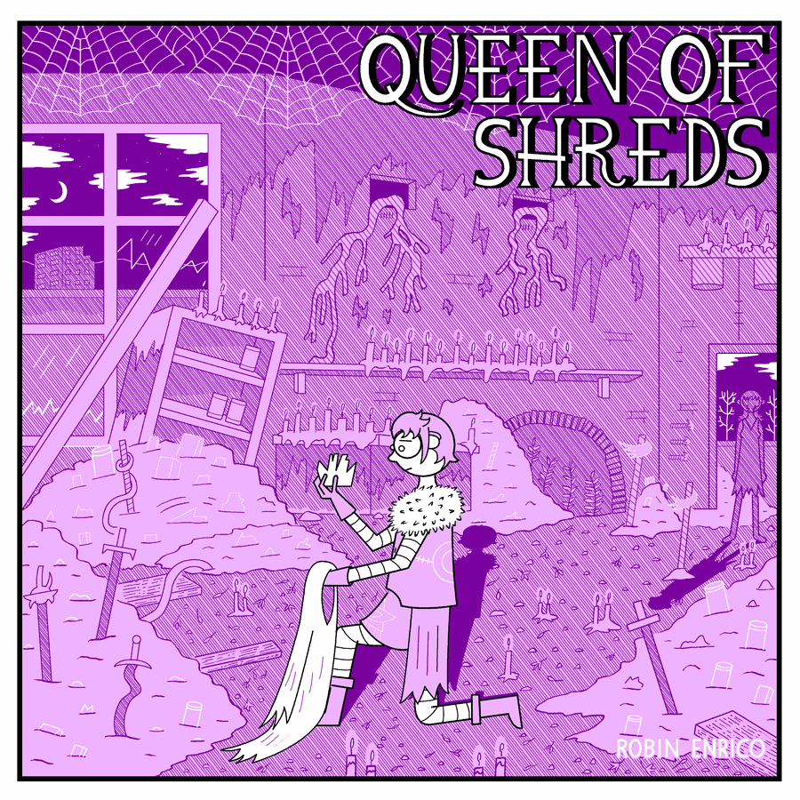 Queen of Shreds Cover