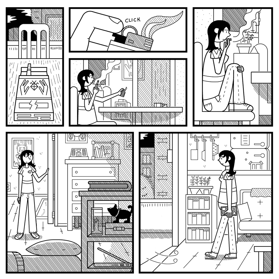 Some Late Visitor page 11