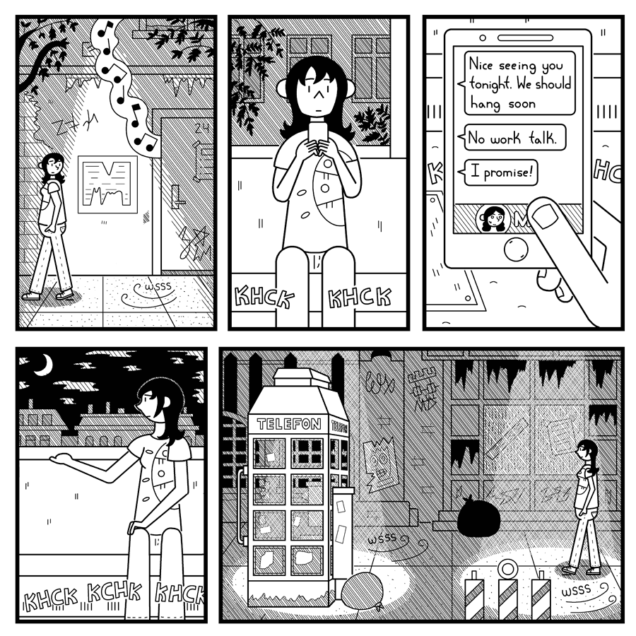 Some Late Visitor page 16